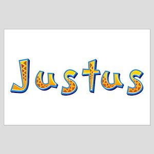 Justus Giraffe Large Poster