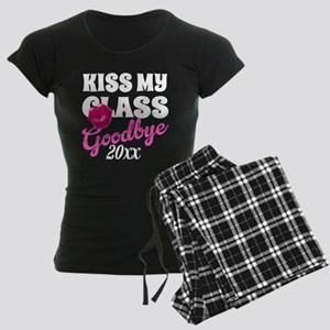 Kiss My Class Grad Women's Dark Pajamas