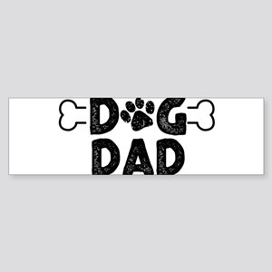 Dog Dad Bumper Sticker