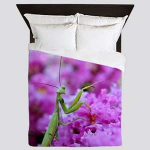 Praying Mantis Queen Duvet