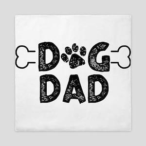 Dog Dad Queen Duvet