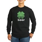 Beer Charm Long Sleeve Dark T-Shirt