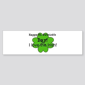 Happy St. Patricks Day Bumper Sticker