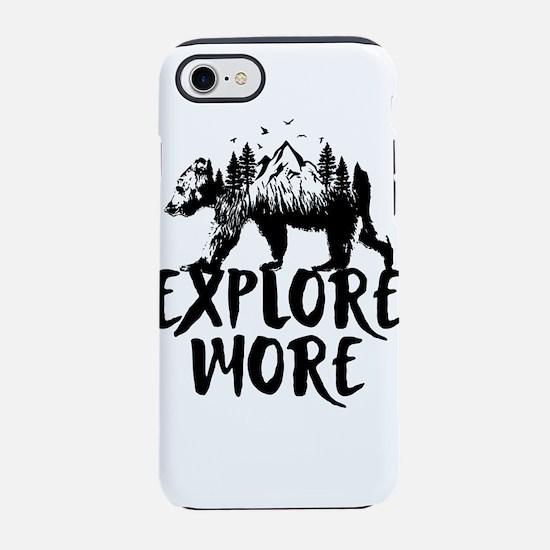 Explore More Bear Woods iPhone 7 Tough Case