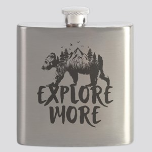 Explore More Bear Woods Flask