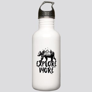 Explore More Bear Woods Water Bottle