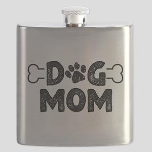 Dog Mom Flask