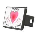 Happy Valentines Day with a Heart Hitch Cover