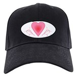 Happy Valentines Day with a Heart Baseball Hat
