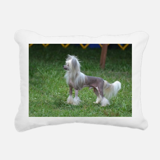 Small Chinese Crested Do Rectangular Canvas Pillow
