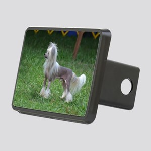 Small Chinese Crested Dog Rectangular Hitch Cover