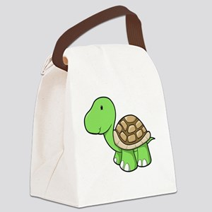 Cute Baby Turtle  Canvas Lunch Bag