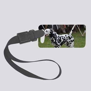 Fire Dog Small Luggage Tag