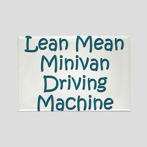 Minivan Mom Rectangle Magnet