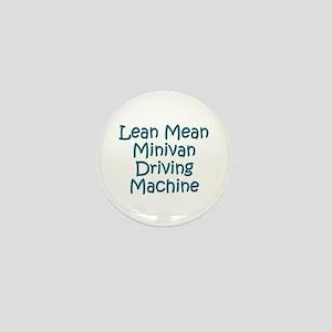 Minivan Mom Mini Button