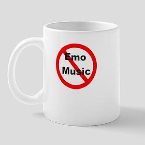 Say no to Emo Music Mug