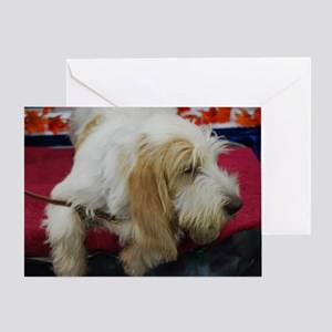 Grand Basset Profile Greeting Card