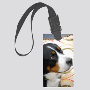 Greater Swiss Mountain Dog Large Luggage Tag