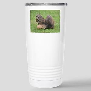 Adorable Havanese Dog B Stainless Steel Travel Mug