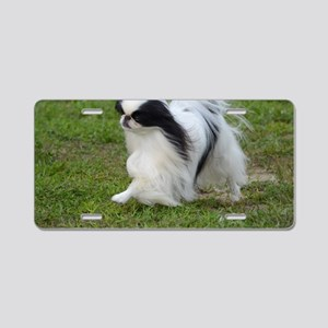 Japanese Chin Puppy Aluminum License Plate