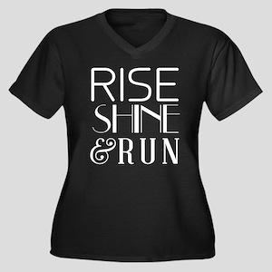 Rise shine and run Plus Size T-Shirt