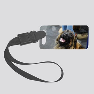 Leonberger Dog Small Luggage Tag