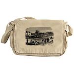 Vintage English Regatta Messenger Bag