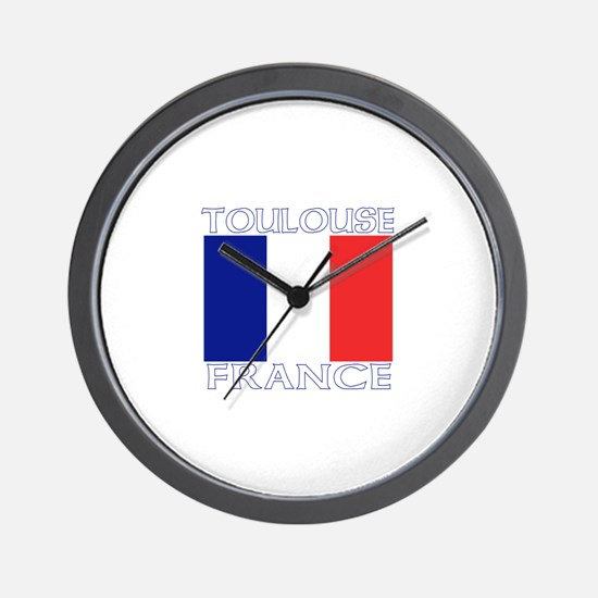 Toulouse, France Wall Clock