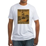 Vintage war effort rowing Fitted T-Shirt