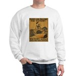 Vintage war effort rowing Sweatshirt