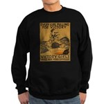 Vintage war effort rowing Sweatshirt (dark)