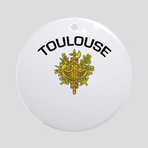 Toulouse, France Ornament (Round)
