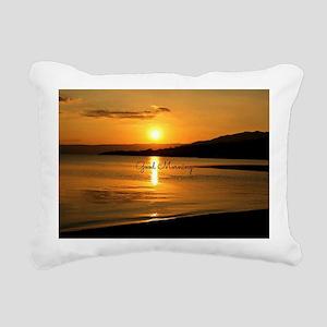 Sunrise - Good Morning Rectangular Canvas Pillow