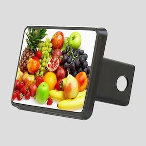 Mixed Fruits Rectangular Hitch Cover
