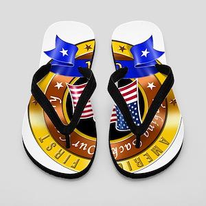 America First Flip Flops