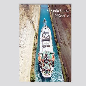 Corinth Canal, Greece Postcards (package Of 8)