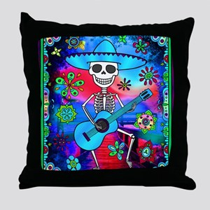 Best Seller Sugar Skull Throw Pillow