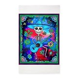 Day of the dead area 3x5 Rugs