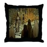 Jesus Teaching at The Temple Throw Pillow