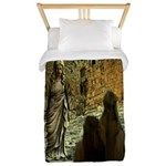 Jesus Teaching at The Temple Twin Duvet