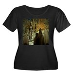 Jesus Teaching at The Temple Plus Size T-Shirt