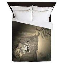 Sheperds Watch The Flocks By Night Queen Duvet