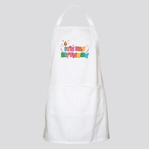It's My Birthday Letters BBQ Apron