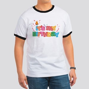 It's My Birthday Letters Ringer T