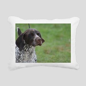 German Short Haired Poin Rectangular Canvas Pillow
