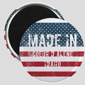 Made in Coeur D Alene, Idaho Magnets
