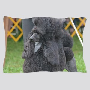 Poised Poodle Pillow Case