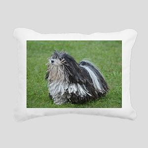 Adorable Puli Dog Rectangular Canvas Pillow