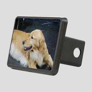 Golden Retriever Dog Rectangular Hitch Cover