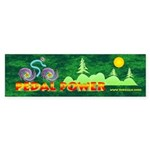 Pedal Power Bumper Sticker